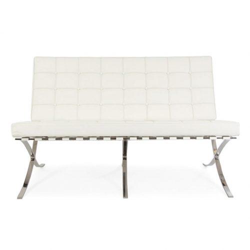 divano barcelona bianco a noleggio milano roma italia rental design