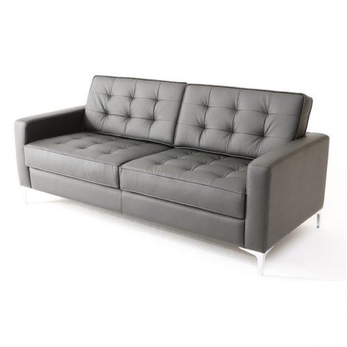 divano florence knoll nero 2 posti xl rental design
