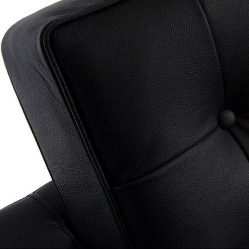 divano florence knoll nero noleggio milano rental design dettaglio