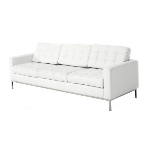 noleggio divano florence knoll bianco rental design 2