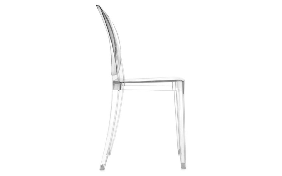 Sedia Victoria Ghost di Kartell - Trasparente - Rental Design