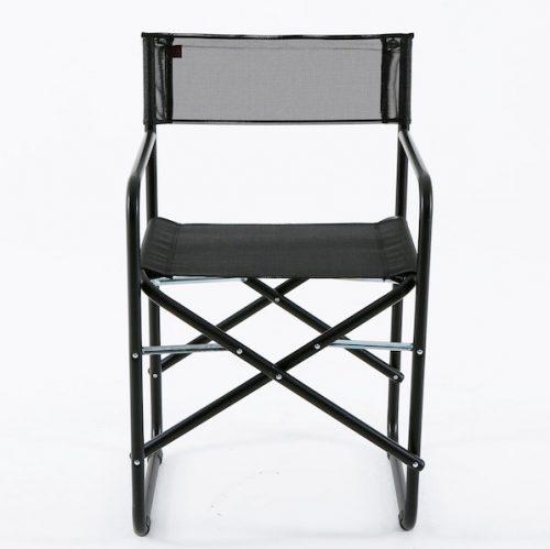 sedia regista richiudibile fiam nera a noleggio rental design SED001-01 front