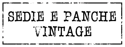 Sedie e Panche Vintage