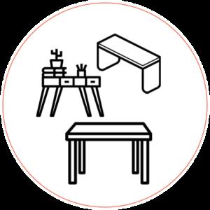 Tavoli, tavolini & desk