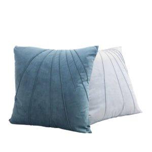 cuscino classico azzurro bianco a noleggio rental design