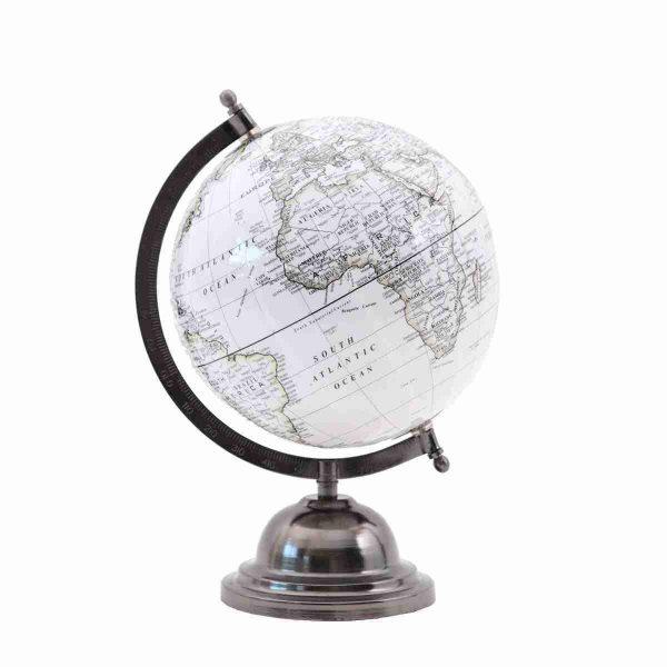 noleggio mappamondo props globe grey rental design