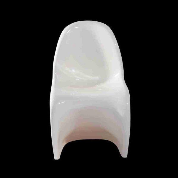 sedia curvy bianca a noleggio