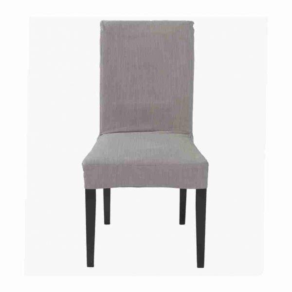 sedia grey tessuto a noleggio front