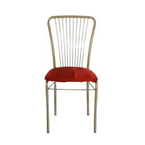 sedia rosso oro a noleggio vintage teatro rental design