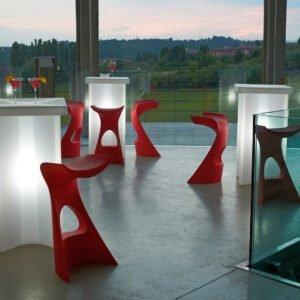 sgabello koncord slide noleggio rental design